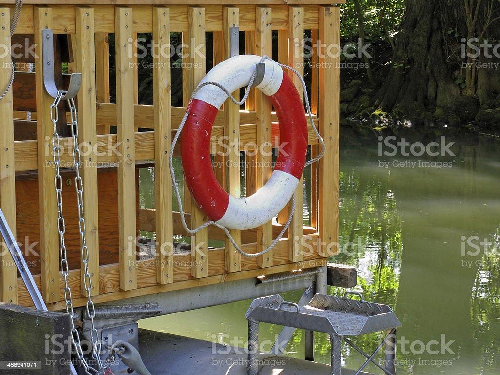 life belt - Lifebuoy stock photo