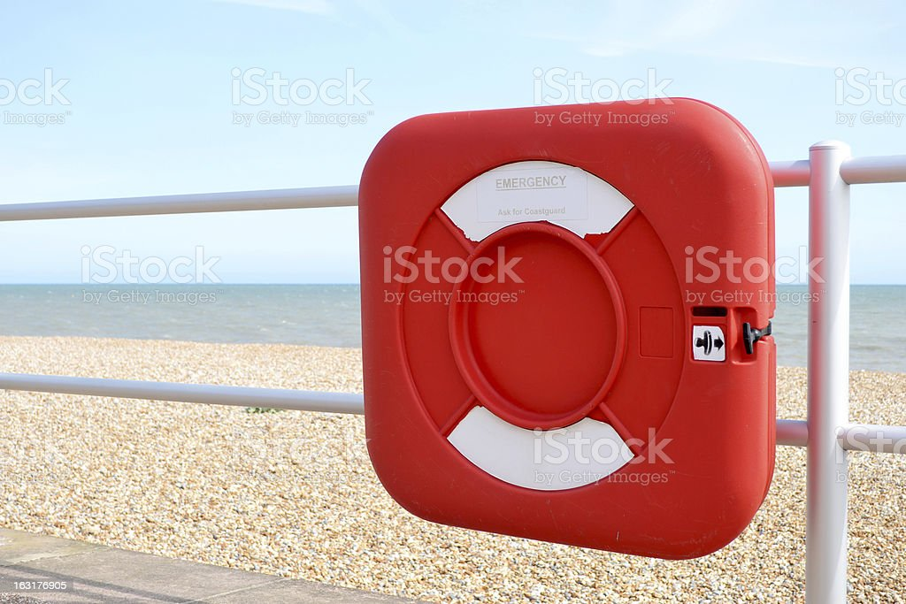 Life Belt Rescue royalty-free stock photo