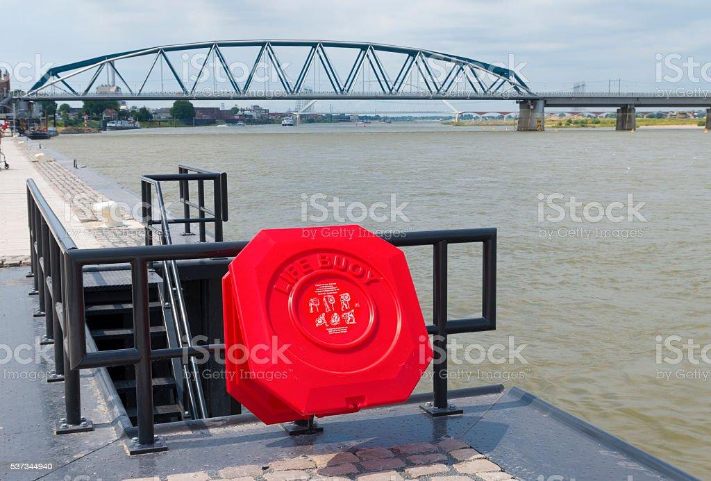 life buoy stock photo