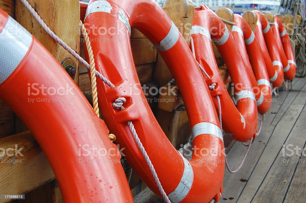 life buoys royalty-free stock photo
