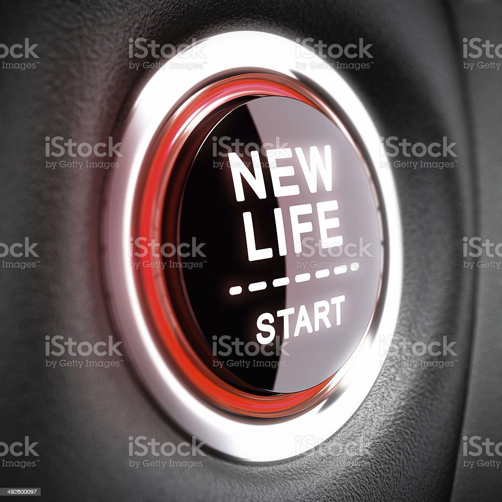 Life Change Concept stock photo