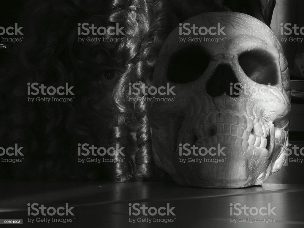 Life, Death, the Universe, etc. stock photo