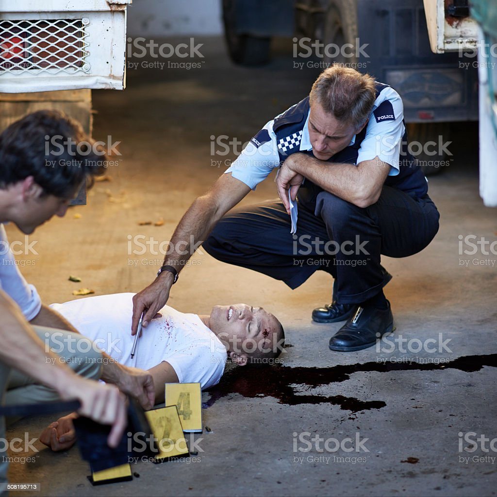 Life ended too soon for him... stock photo