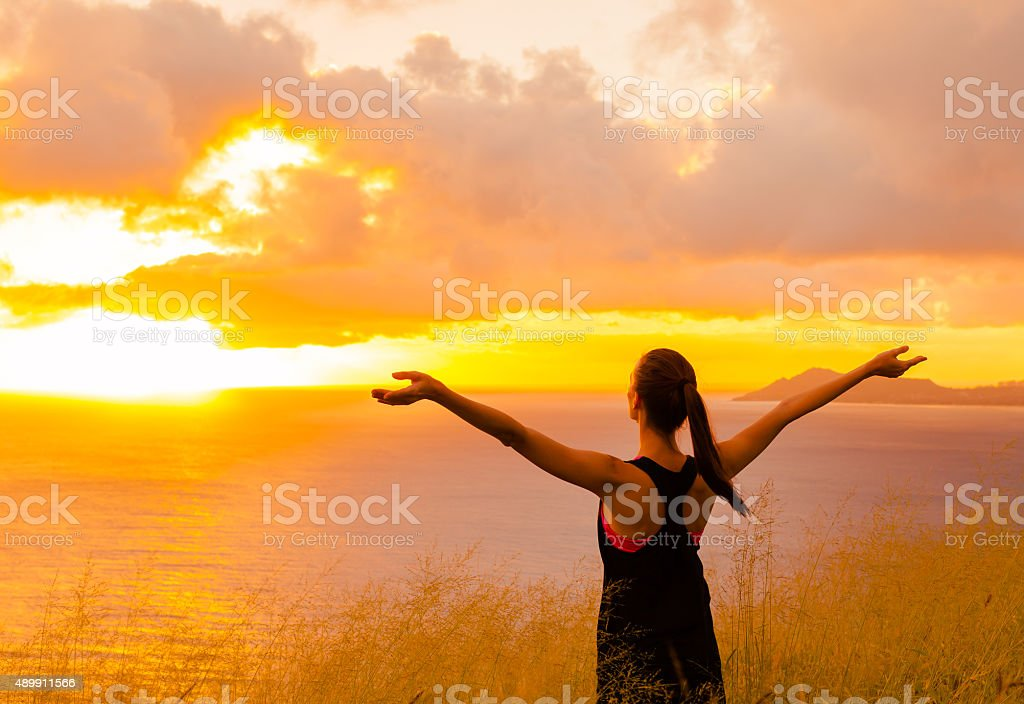 Life enjoyment stock photo