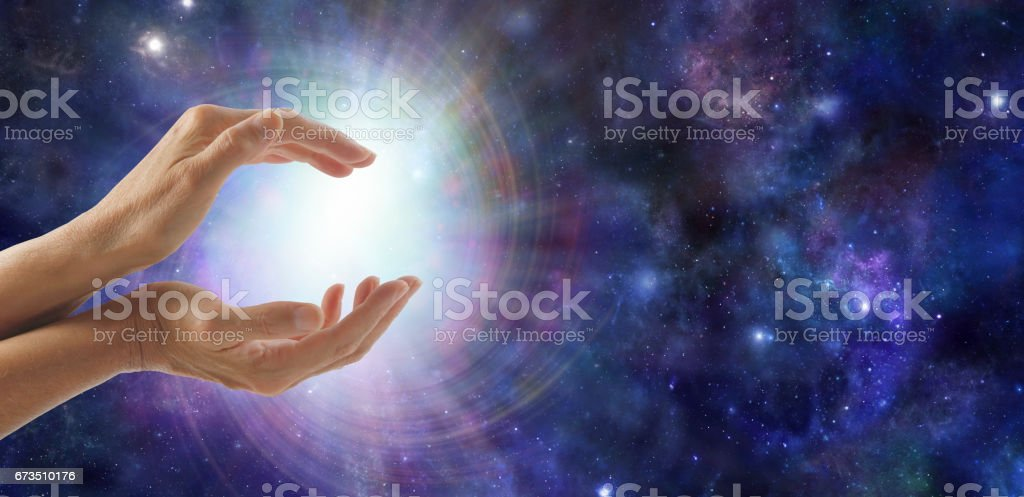 Life Force Energy stock photo