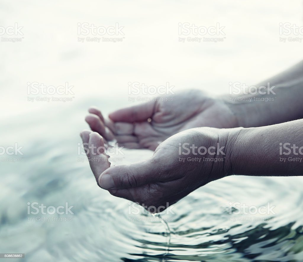 Life Giving Water stock photo