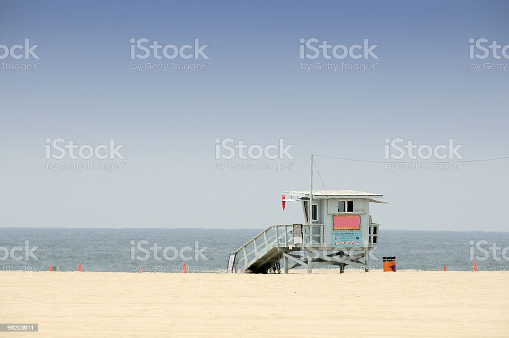 Life Guard Tower royalty-free stock photo