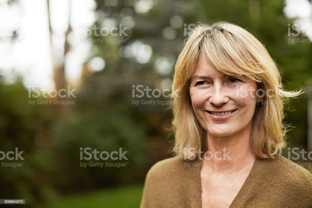 Life has been good to me stock photo