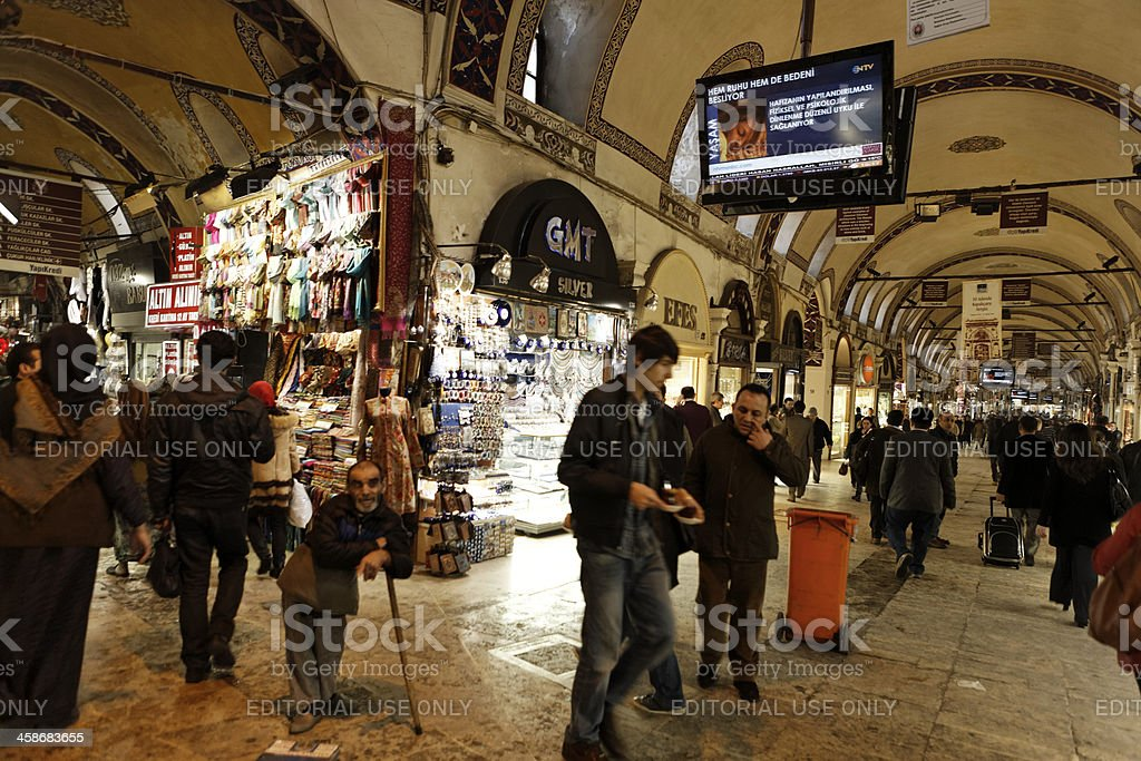 Life in the Bazaar. Istanbul stock photo