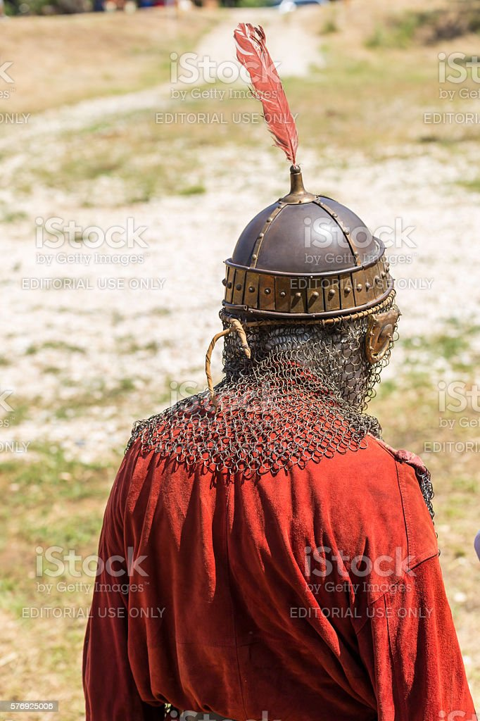Life in the Middle Ages stock photo