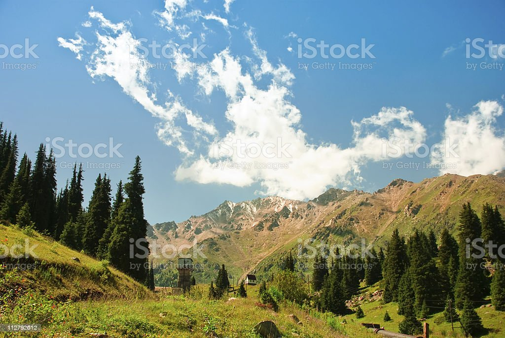 Life in the Mountains royalty-free stock photo