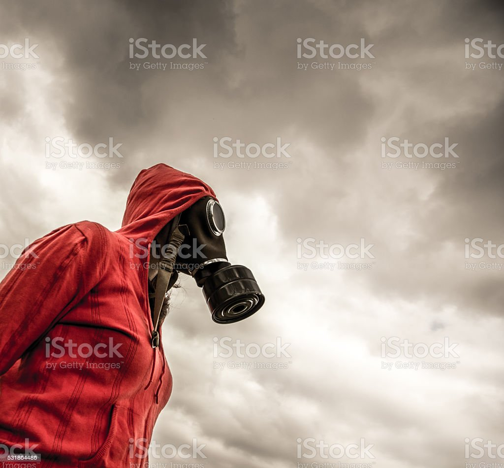 life in the Toxic Environment stock photo