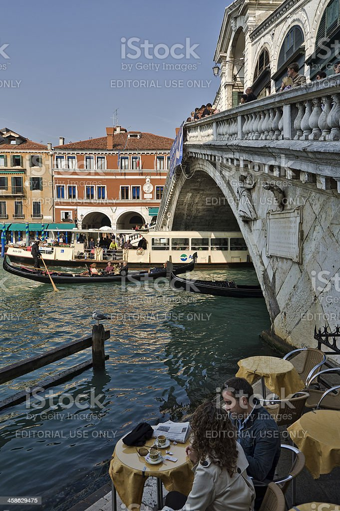 Life in Venice royalty-free stock photo