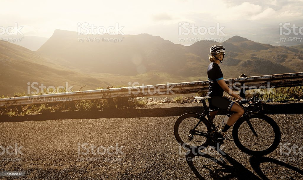 Life is a beautiful ride stock photo
