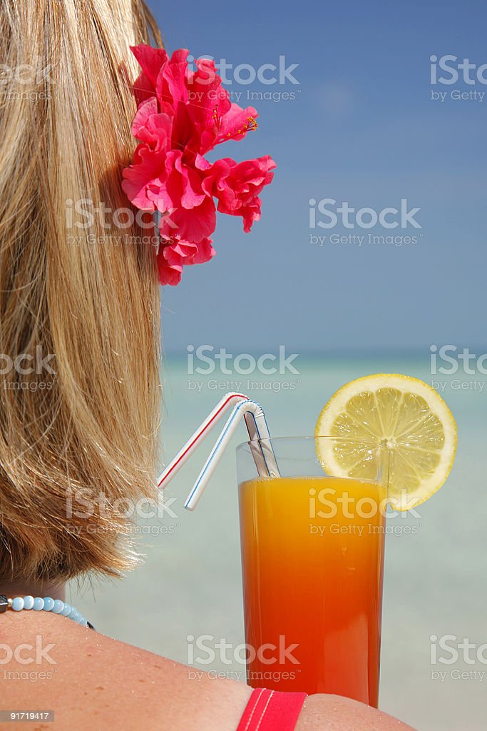 Life is a Cocktail royalty-free stock photo