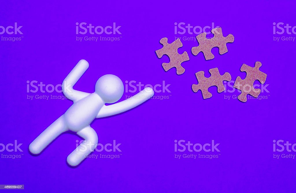 Life is a Puzzle stock photo