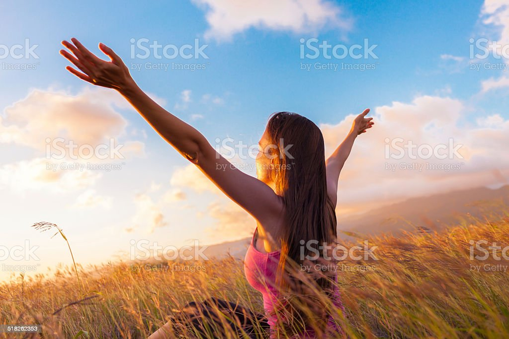 Life is enjoyment stock photo