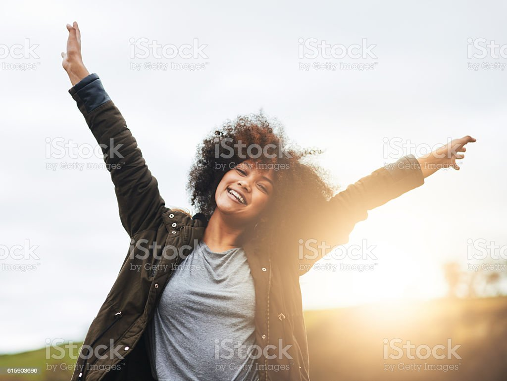 Life is for celebrating! stock photo