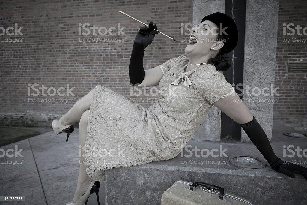 Life is Good in Retro royalty-free stock photo