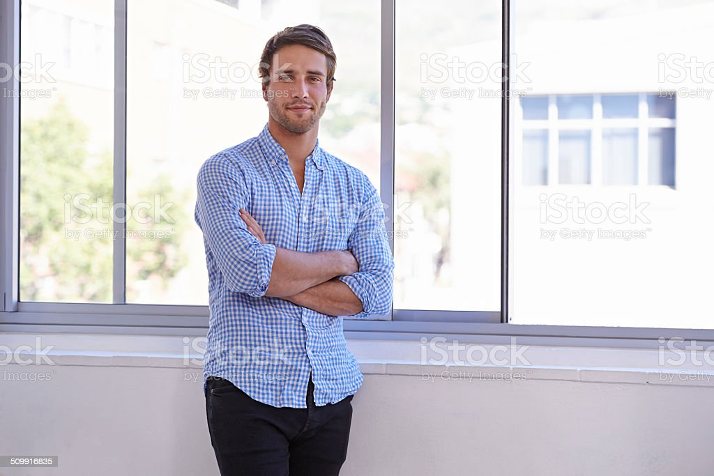 Life is good! stock photo