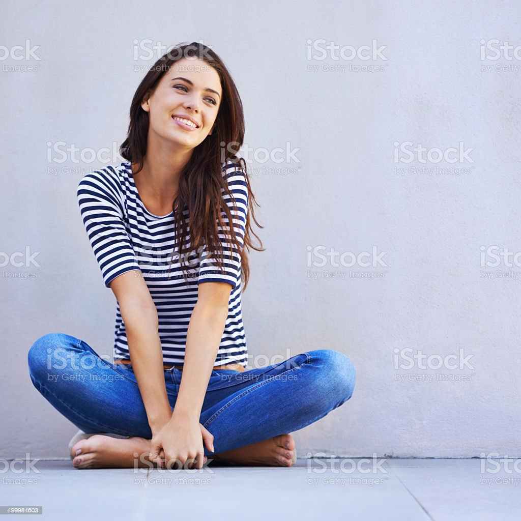 Life is just grand stock photo