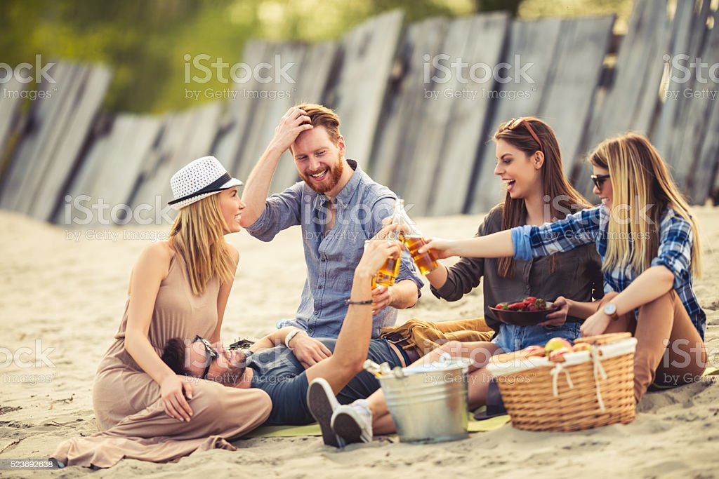 Life is meant to celebrated stock photo