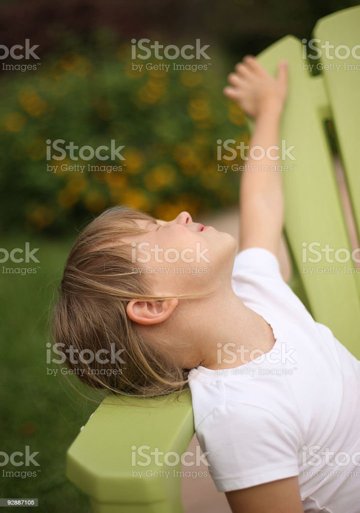Life is so-o-o-o-o good! royalty-free stock photo