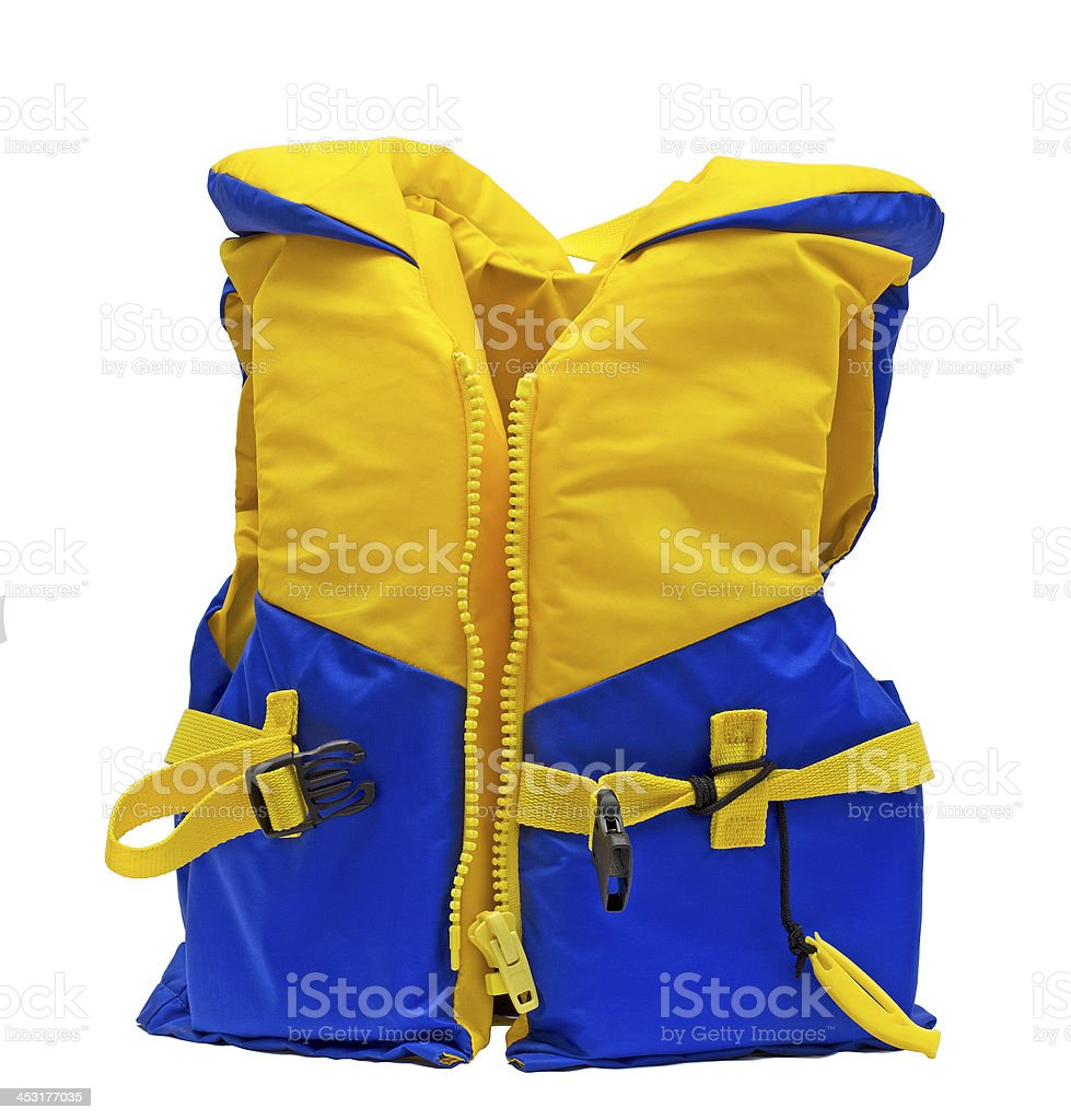 life jacket royalty-free stock photo