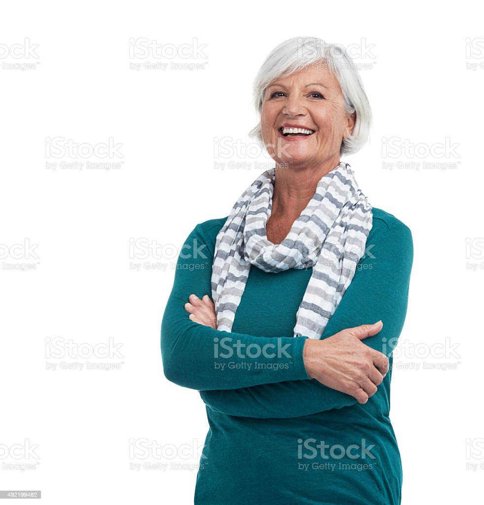 Life just gets better with age stock photo