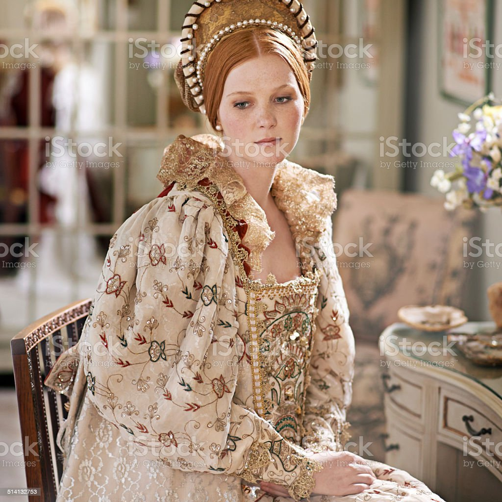 Life of the nobility stock photo