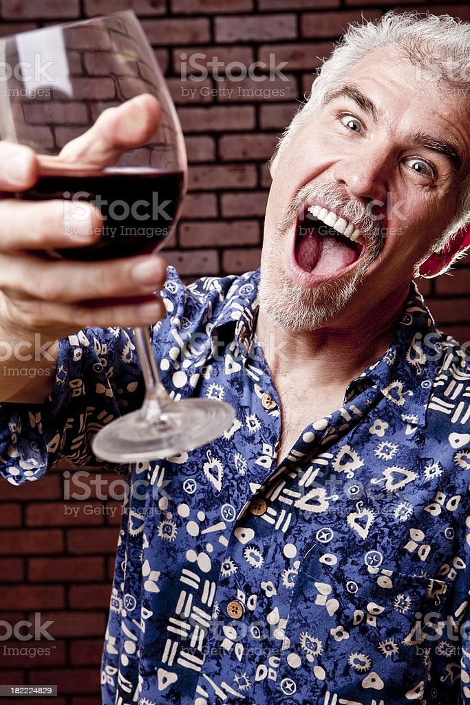 Life of the party royalty-free stock photo