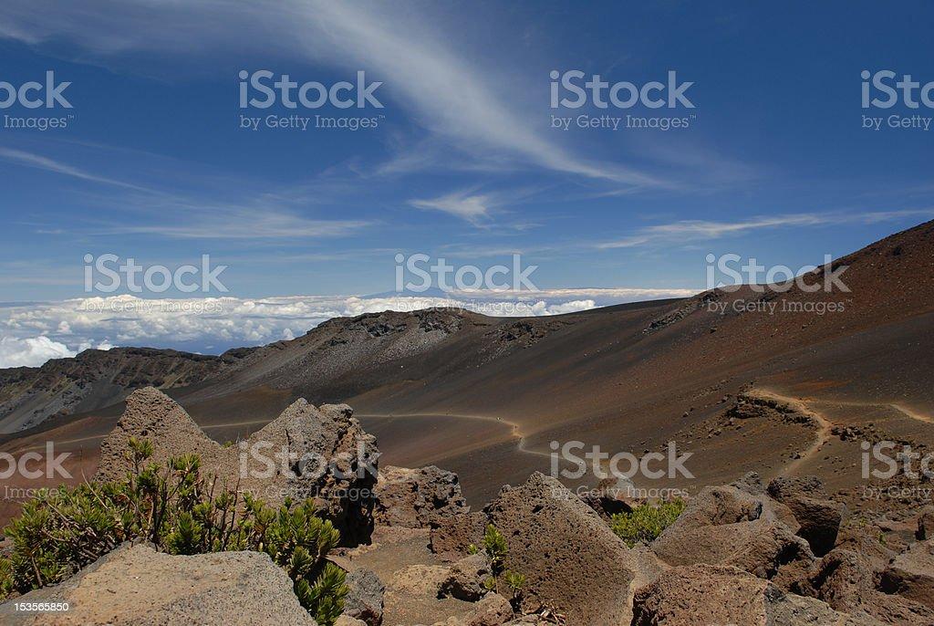 Life on Haleakala, Maui royalty-free stock photo