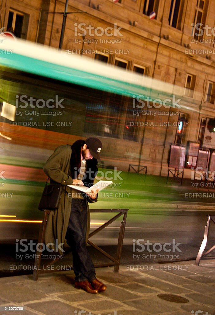 Life Passing By stock photo