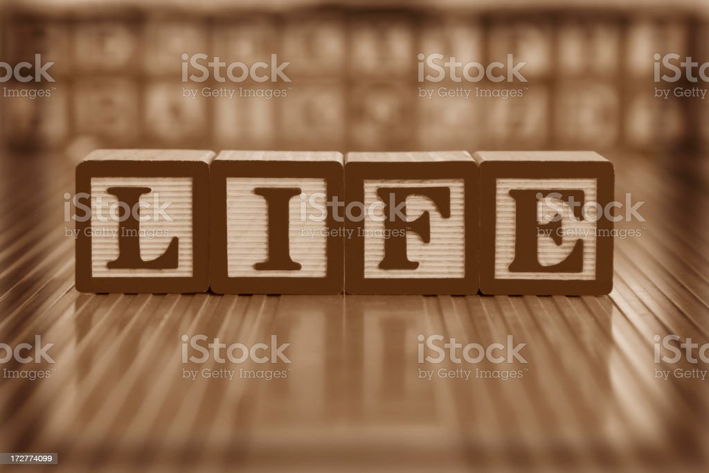 life (#8 of series) royalty-free stock photo