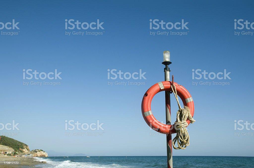 Life ring stock photo