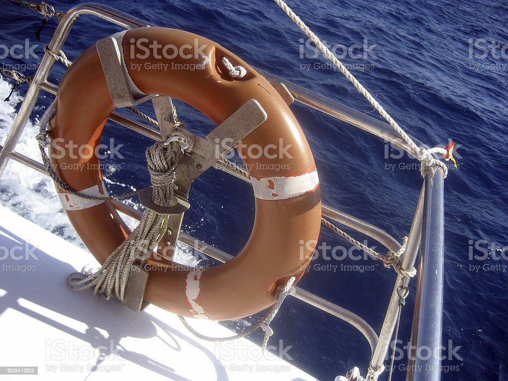 Life Ring royalty-free stock photo