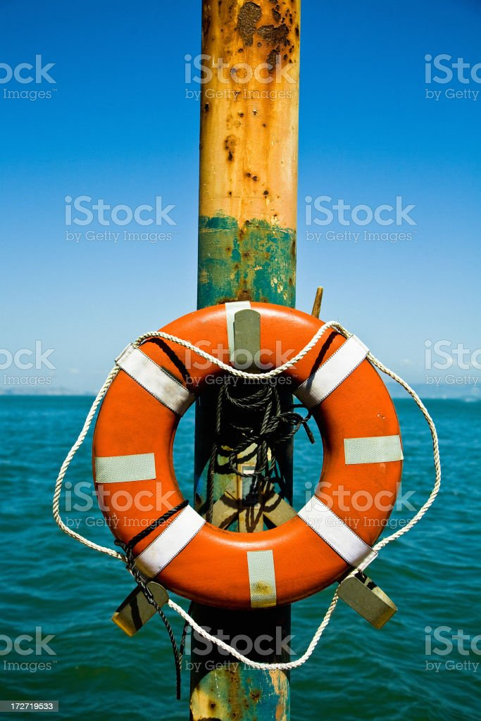 life saver stock photo