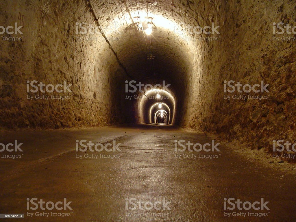 Life Tunnel royalty-free stock photo