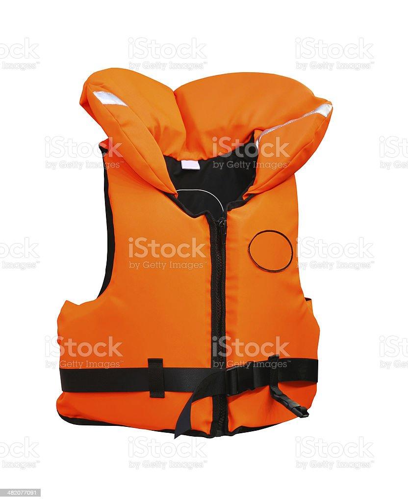 Life vest stock photo