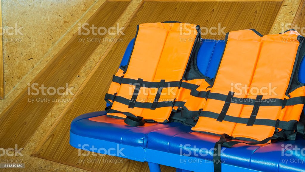 Schwimmweste Lizenzfreies stock-foto