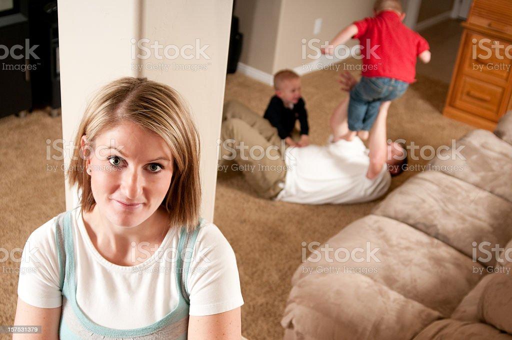 Life with Boys royalty-free stock photo