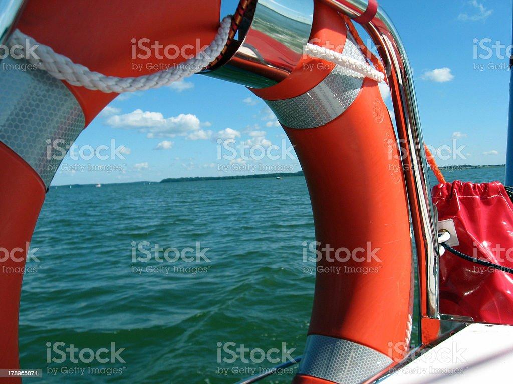 lifebelt stock photo