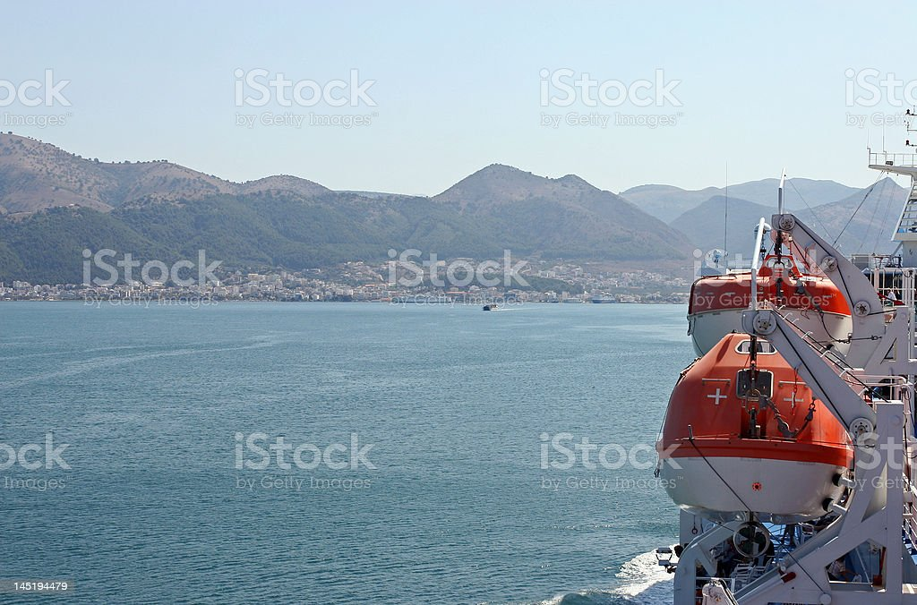 Lifeboat royalty-free stock photo