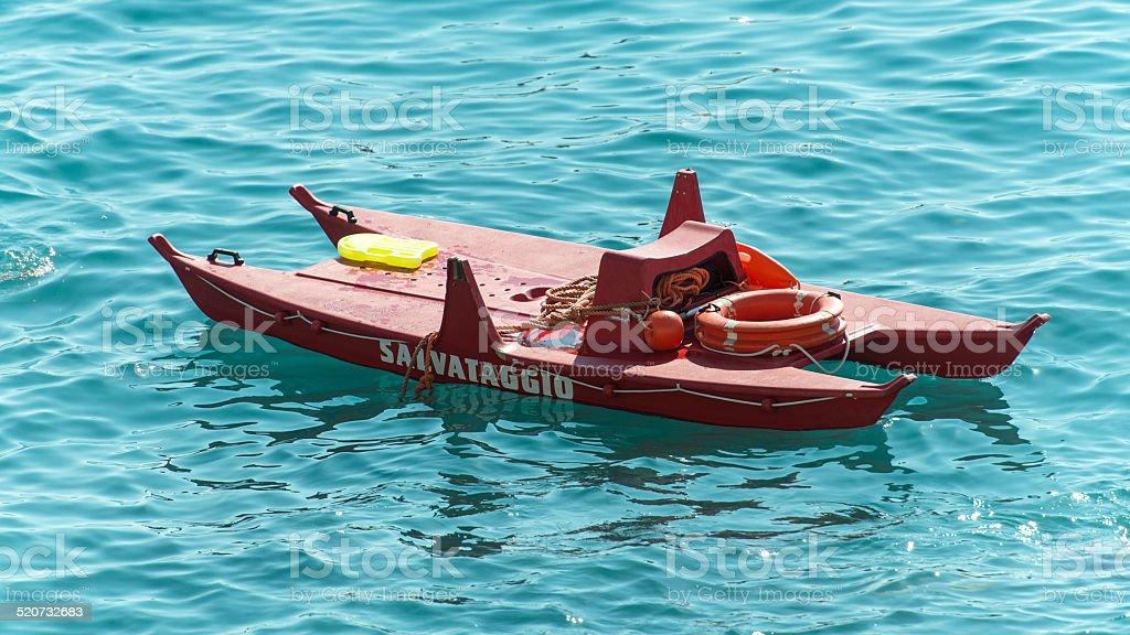 Life-boat royalty-free stock photo