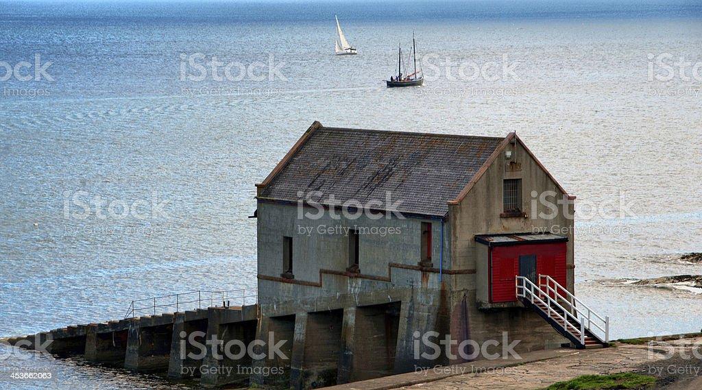 Lifeboat Station, stock photo