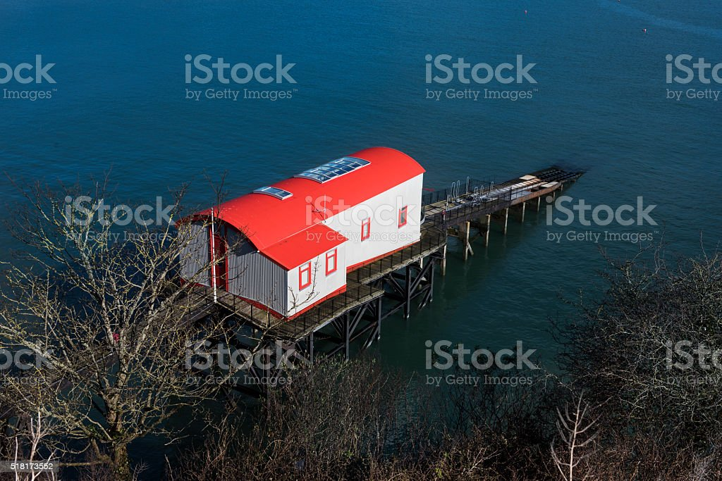 Lifeboat Station stock photo