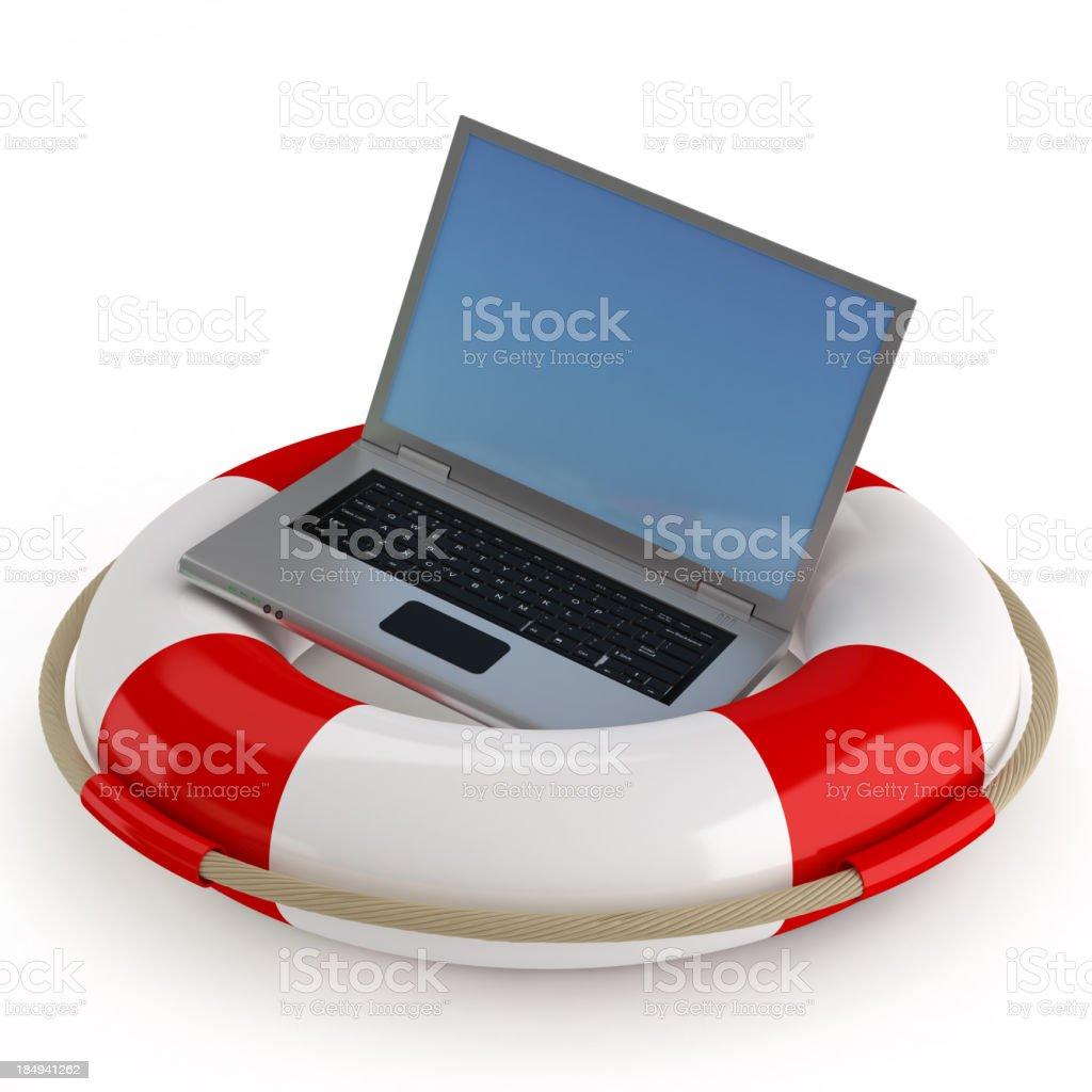 Lifebuoy Concepts royalty-free stock photo