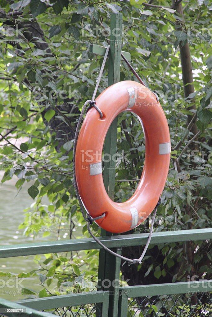 Lifebuoy. Life ring. royalty-free stock photo