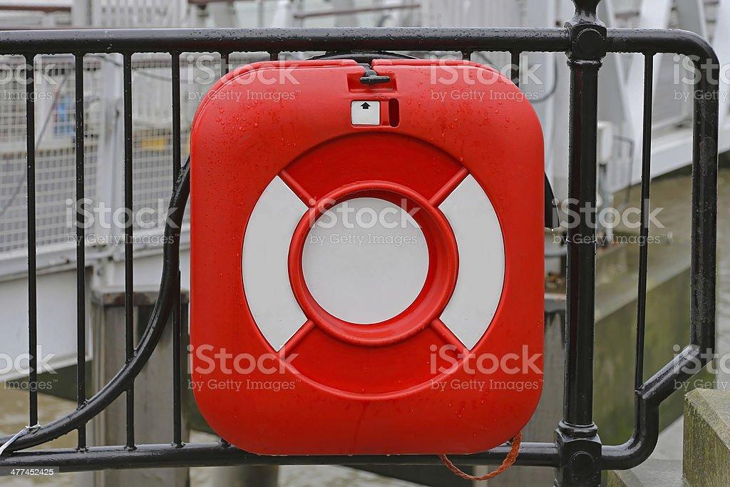 Lifebuoy royalty-free stock photo