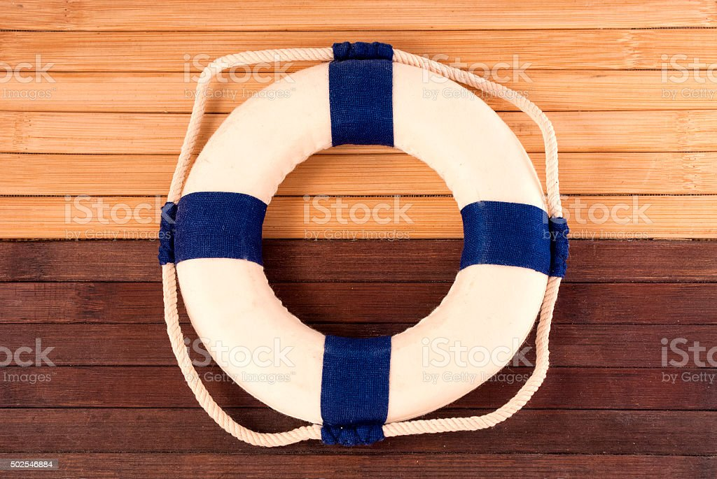 Lifebuoy. stock photo